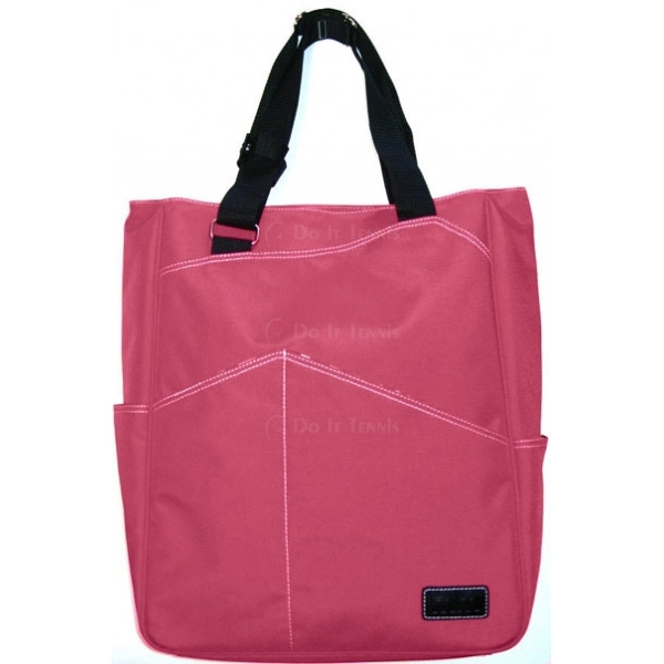 Maggie Mather Tennis Tote (Pink)