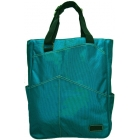 Maggie Mather  Tote (Teal) - Tennis Tote Bags