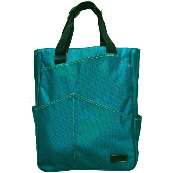 Maggie Mather Tennis Tote (Teal)