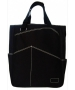 Maggie Mather Tote (Black) - Maggie Mather Tennis Totes & Bags