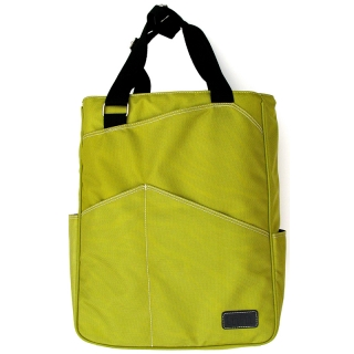 Maggie Mather Tennis Tote (Lime)