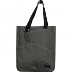 Maggie Mather Tennis Tote with Zipper Closure (Pewter) - Maggie Mather