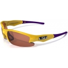 Maxx HD Dynasty LSU Collegiate Sunglasses (Gld/ Pur) - Maxx Tennis Accessories