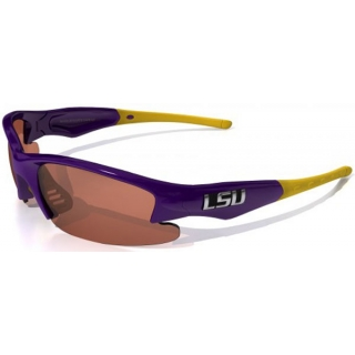 Maxx HD Dynasty LSU Collegiate Sunglasses (Pur/ Gur)