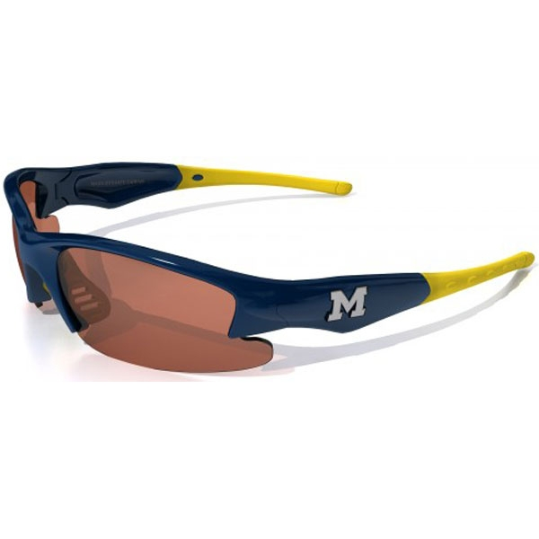 Maxx HD Dynasty Michigan Collegiate Sunglasses (Blu/ Ylw)