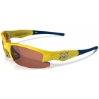 Maxx HD Dynasty Michigan Collegiate Sunglasses (Ylw/ Blu) - Sunglasses