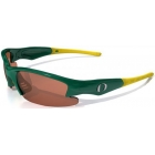 Maxx HD Dynasty Oregon Collegiate Sunglasses (Grn/ Ylw) - Sunglasses