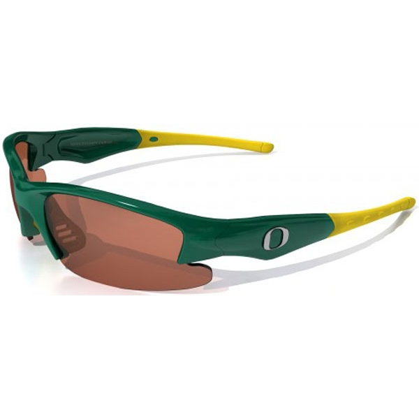 Maxx HD Dynasty Oregon Collegiate Sunglasses (Grn/ Ylw)