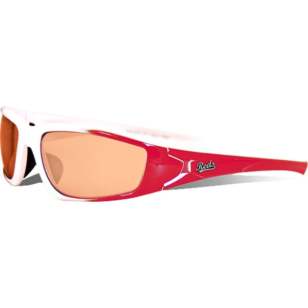 Maxx HD Viper MLB Sunglasses (Reds)