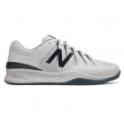 New Balance Men's MC1006BW (D) Tennis Shoes (White/Black) -