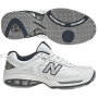 New Balance Men's MC806W (2E) Shoes (Wht/ Nvy)