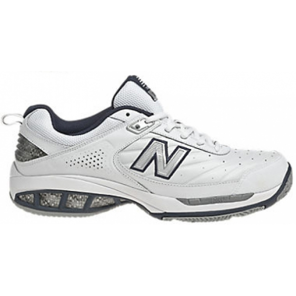 New Balance Men's MC806W (4E) Tennis Shoe (Wht/ Nvy)