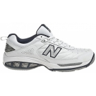 New Balance Men's MC806W (2E) Shoes (Wht/ Nvy) - New Balance Tennis Shoes