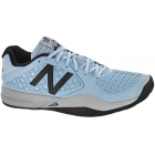 New Balance Men's MC996CB2 (D) Tennis Shoes (Cyan/Black) - Men's Tennis Shoes