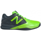 New Balance Men's MC996GG2 (2E) Tennis Shoes (Grey/Green) - Men's Tennis Shoes
