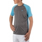 K-Swiss Men's Backcourt Tennis Crew (Blue Grotto/Grey) - Tennis Apparel