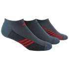 Adidas Men's ClimaCool Superlite 3-Pack No Show (Large) - Adidas Apparel