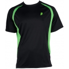 Prince Men's Crew (Black/Green) - Men's Tennis Apparel
