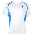 Prince Men's Crew (White/Blue) - Men's Tennis Apparel
