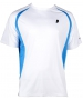 Prince Men's Crew (White/Blue) - Prince Tennis Apparel
