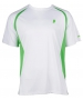 Prince Men's Crew (White/Green)  - Prince Tennis Apparel