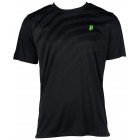 Prince Men's Graphic Crew (Black/Grey) - Men's Tennis Apparel