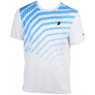 Prince Men's Graphic Crew (White/Blue)