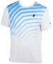 Prince Men's Graphic Crew (White/Blue) - Prince Tennis Apparel