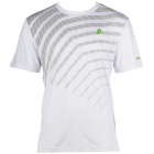 Prince Men's Graphic Crew (White/Grey) - Men's Tennis Apparel