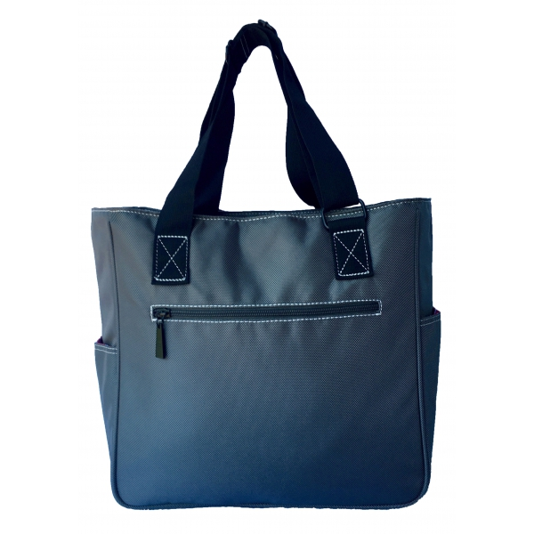 Maggie Mather Pickleball Tote Bag (Pewter)