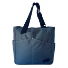 Maggie Mather Pickleball Tote Bag (Pewter) - Maggie Mather Pickleball Tote Bags