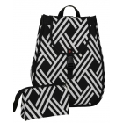 40 Love Courture Modern Weave Maddie Backpack - Designer Tennis Bags - Luxury Fabrics and Ultimate Functionality