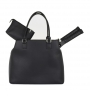 Court Couture Monte Carlo Tennis Bag (Black)