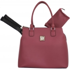 Court Couture Monte Carlo Tennis Bag (Fuchsia) - Court Couture Tennis Bags
