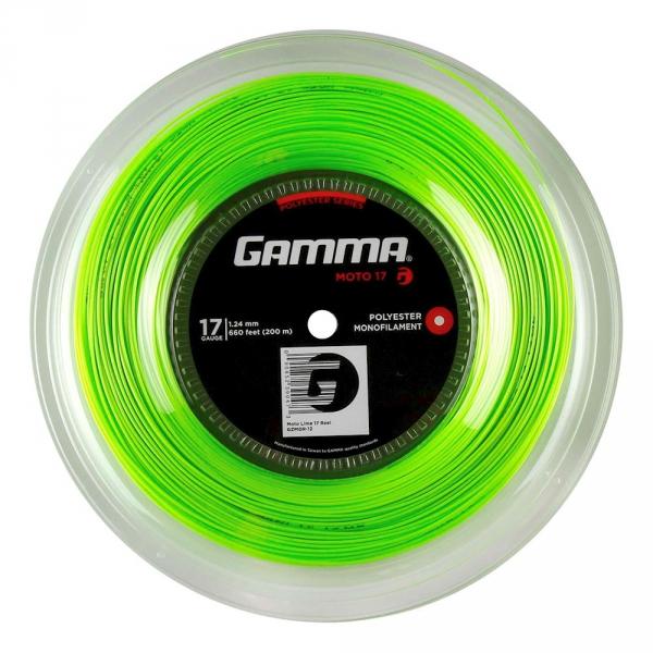 Gamma MOTO 17g Tennis String (Reel)