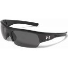 Under Armour Igniter 2.0 Storm Polarized Sunglasses (Shiny Black / Black) - Tennis Accessory Types