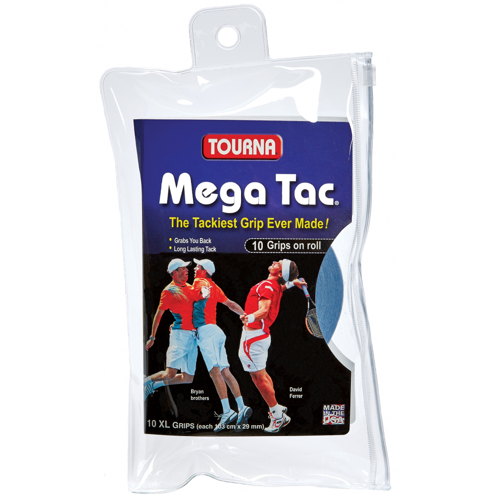 Tourna Mega Tac Overgrip 10 Pack