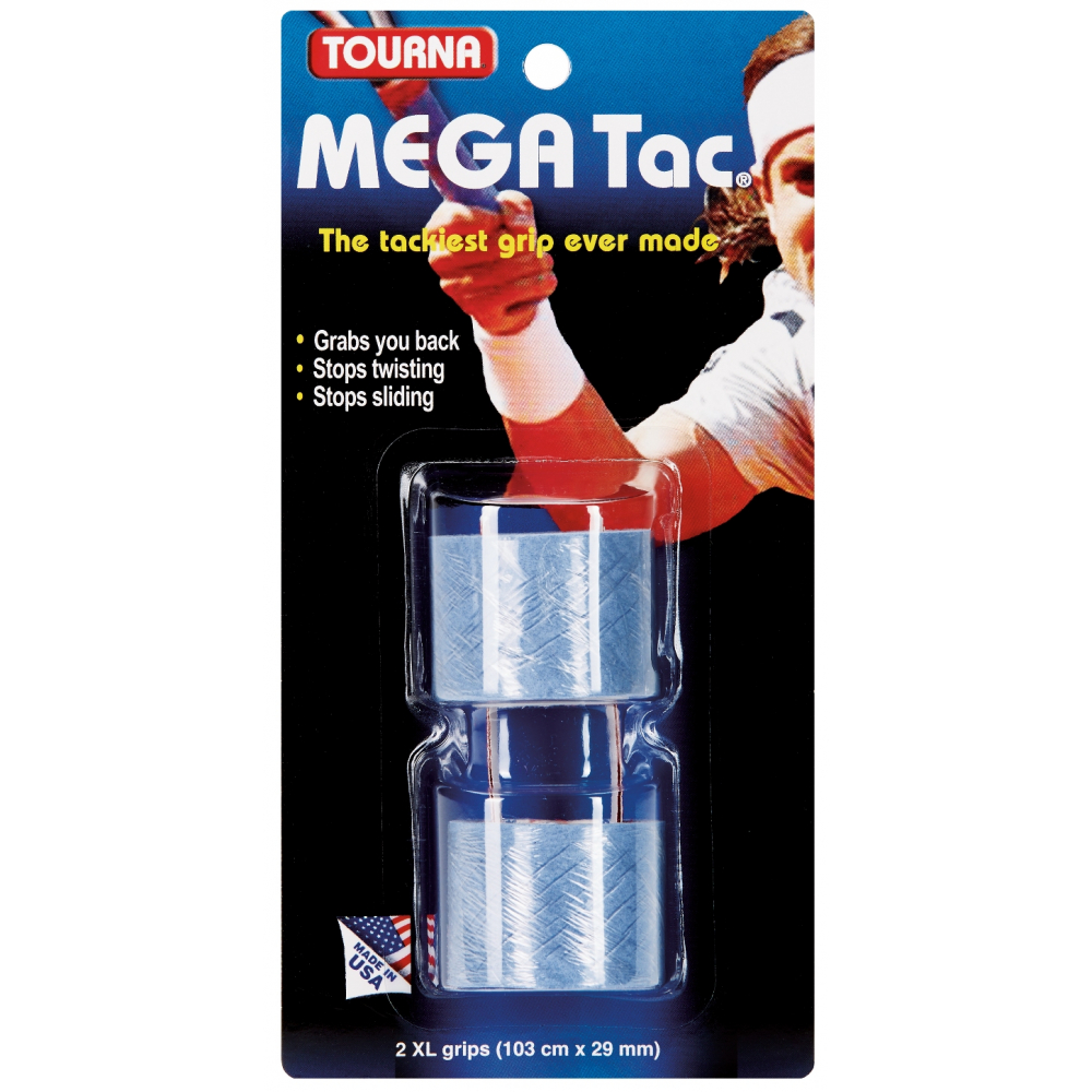 Tourna Mega Tac Overgrip (2 Pack)