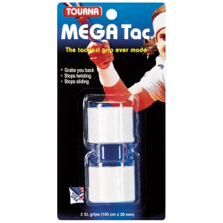 Tourna Mega Tac Overgrip (2 Pack)