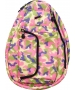 Jet Multi-Colored Mesh Petite Backpack - Jet Petite Backpacks