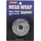 Tourna Mega Wrap Tennis Racquet Replacement Grip (Black) - Tourna Tennis Racquet Replacement Grips