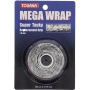 Tourna Mega Wrap Tennis Racquet Replacement Grip (Black)