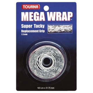 Tourna Mega Wrap Tennis Racquet Replacement Grip (Camo)