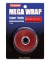 Tourna Mega Wrap Tennis Racquet Replacement Grip (Red) - Absorbent Replacement Grips