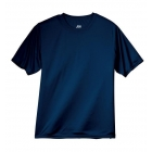 A4 Men's Performance Crew Shirt (Navy) - Men's Tops T-Shirts & Crew Necks Tennis Apparel