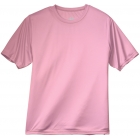A4 Men's Performance Crew Shirt (Pink) - Men's Tops T-Shirts & Crew Necks Tennis Apparel