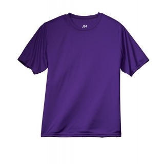 A4 Men's Performance Crew Shirt (Purple)