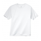 A4 Men's Performance Crew Shirt (White) - A4 Men's T-Shirts & Crew Necks Tennis Apparel