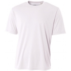 A4 Men's Performance Crew Shirt (White) - Men's Tops