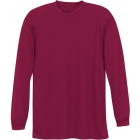 A4 Men's Performance Long Sleeve Crew (Cardinal) - A4 Tennis Apparel